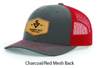 Richardson 112 Mesh Back Leather Patch Cap Options-07