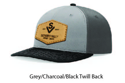 Richardson 312 Twill Back Leather Patch Cap Options-02