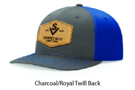 Richardson 312 Twill Back Leather Patch Cap Options-15